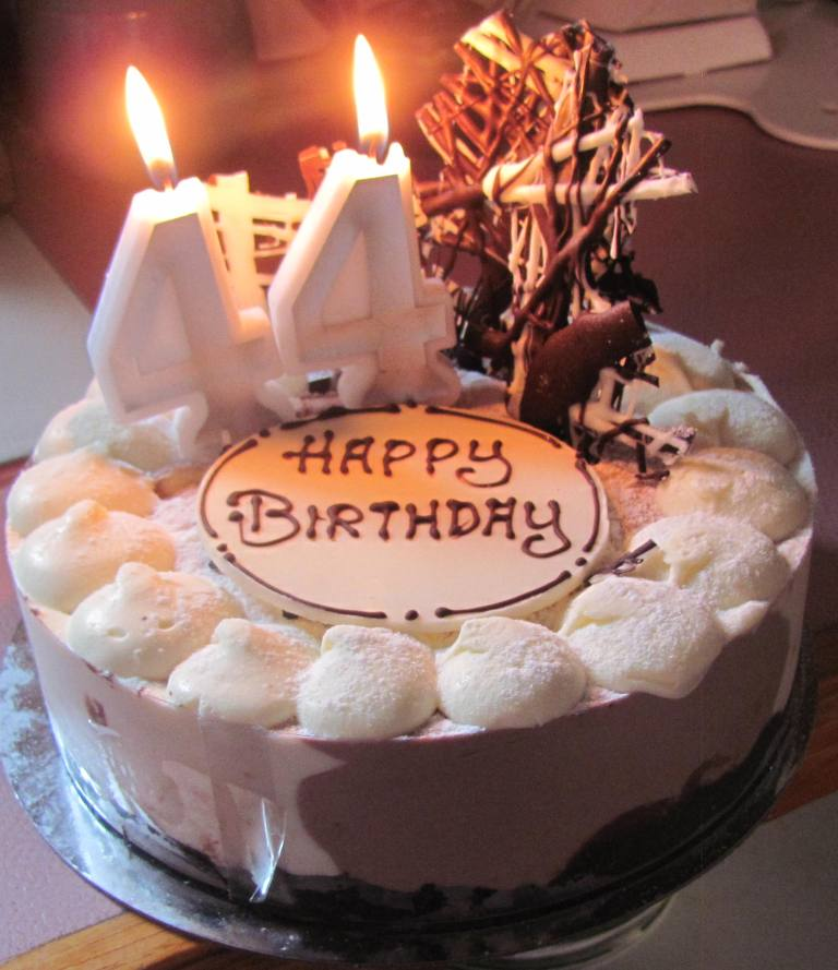 Поздравления на день рождения на 44 года