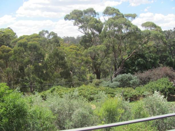 View from Bedroom Verandah