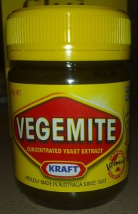 Vegemite - very Australian
