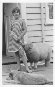 Robyn in 1965 New Zealand