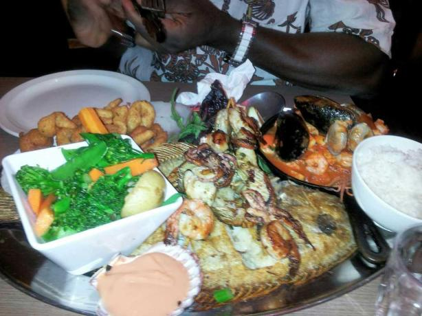 Seafood Bonanza for two