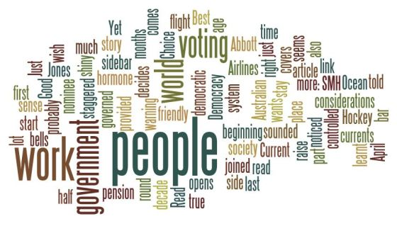 Word Cloud from this site