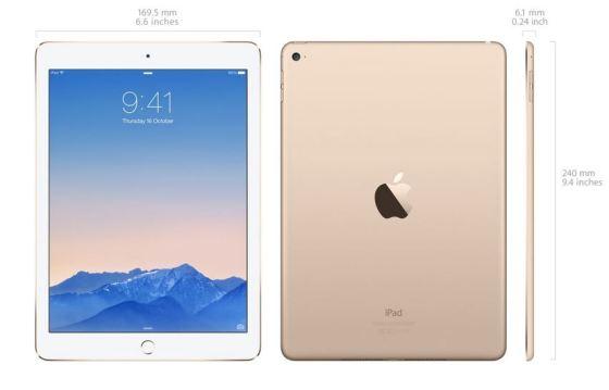 iPad 2 Air (Source: Apple.com.au