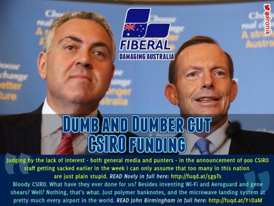 Damaging Australia