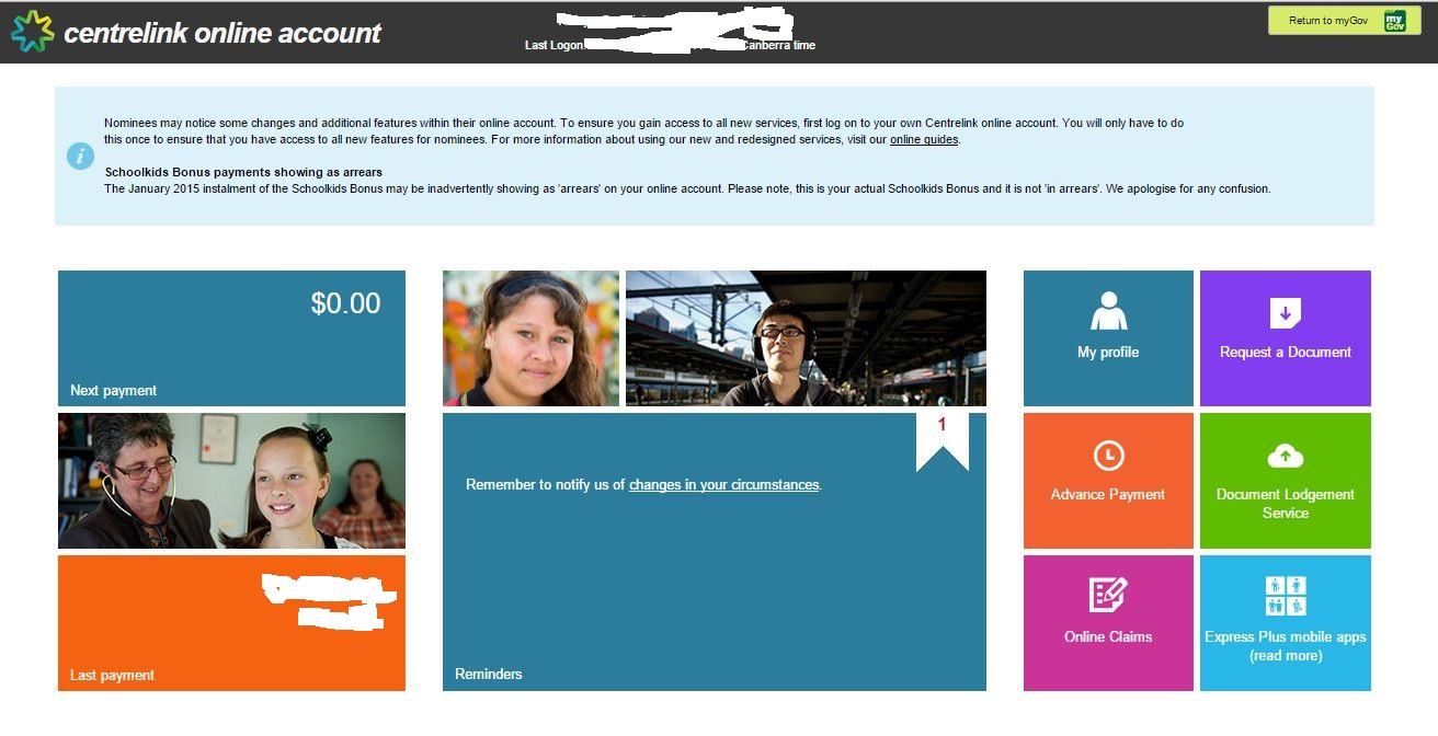 The joys of mygov centrelink medicare the tax man and for Find a home online