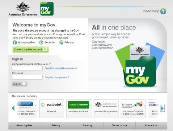 MyGov.gov.au